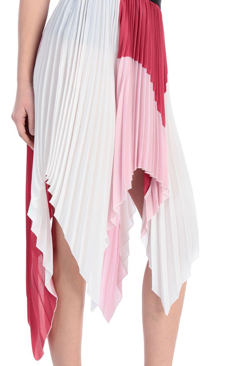 JUST CAVALLI Asymmetric pleated skirt Skirt Woman e