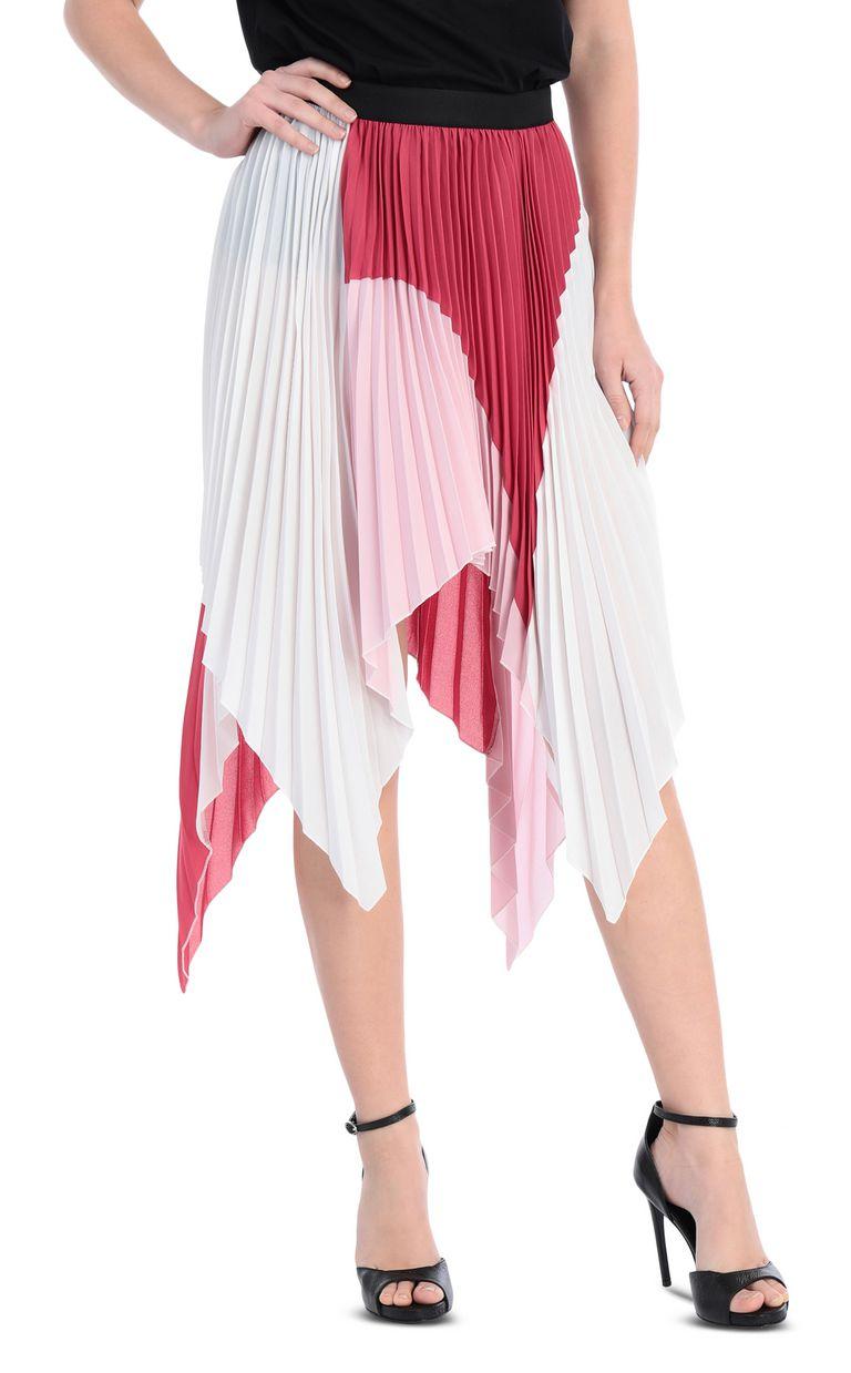 JUST CAVALLI Asymmetric pleated skirt Skirt Woman f