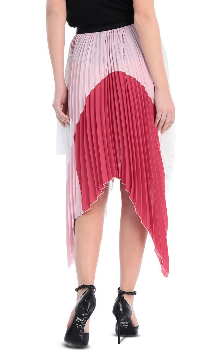 JUST CAVALLI Asymmetric pleated skirt Skirt Woman r