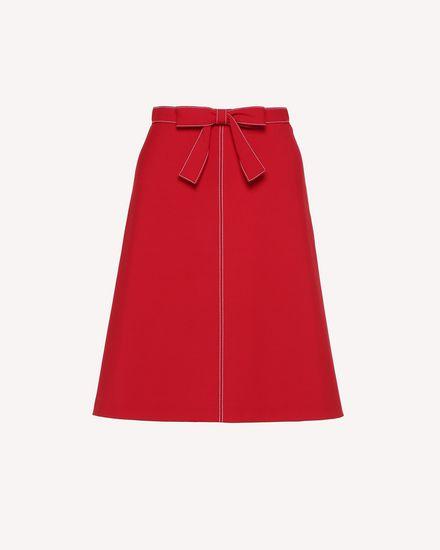 REDValentino Midi Skirt Woman RR3RAA200VM D05 a