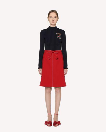 REDValentino Midi Skirt Woman RR3RAA200VM D05 f