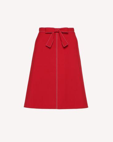 REDValentino RR3RAA200VM D05 Midi skirt Woman a