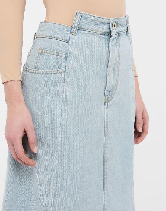 MAISON MARGIELA Décortiqué denim midi skirt Denim skirt [*** pickupInStoreShipping_info ***] a