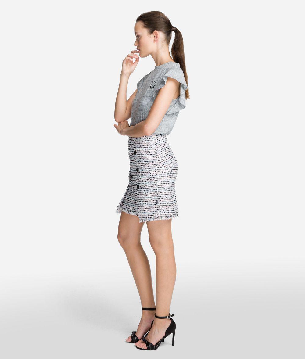KARL LAGERFELD Bouclé Skirt Skirt Woman d