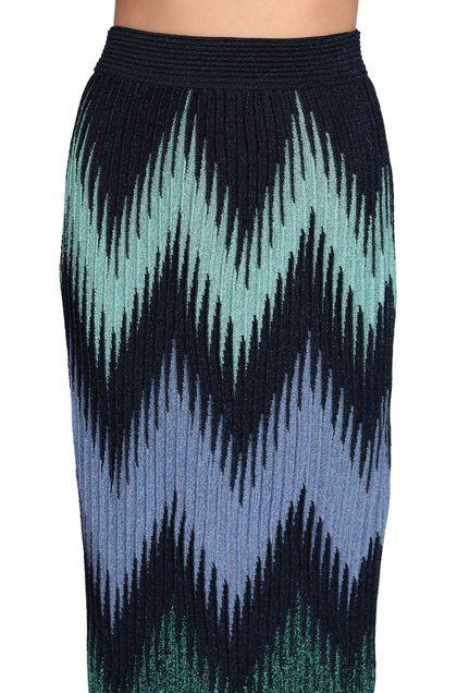 M MISSONI Falda Azul oscuro Mujer - Parte delantera