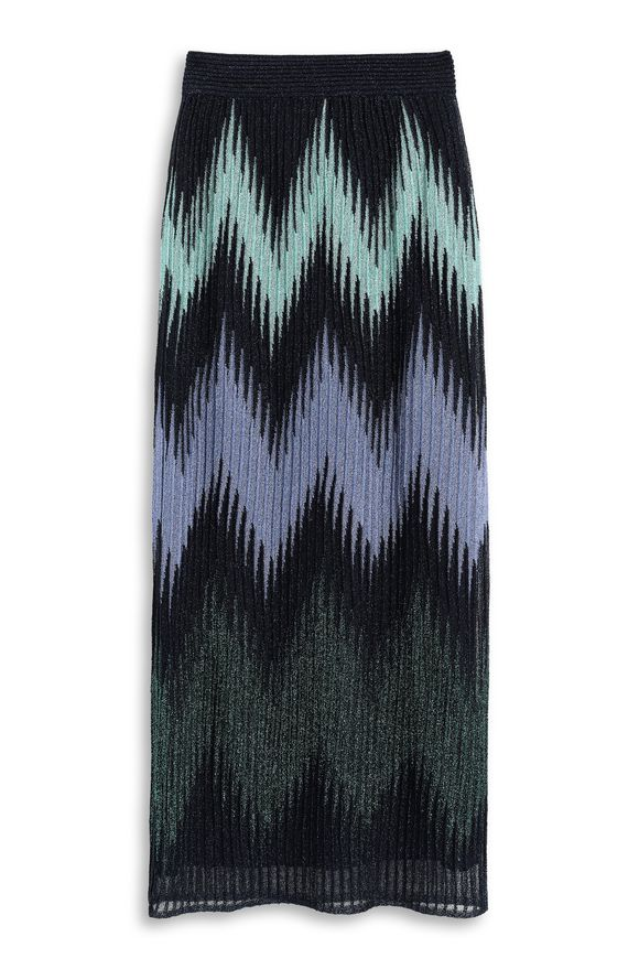 M MISSONI Skirt Dark blue Woman