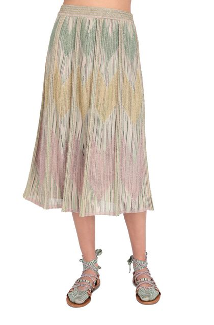 M MISSONI Skirt Beige Woman - Front