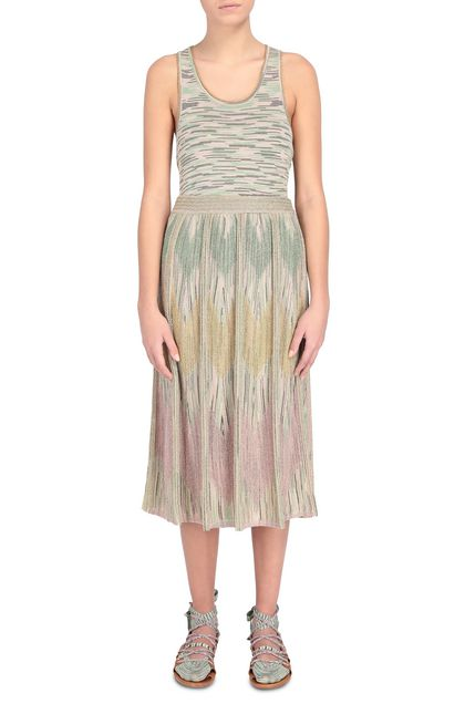 M MISSONI Skirt Beige Woman - Back