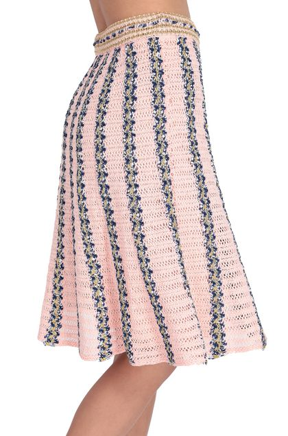 M MISSONI Skirt Pink Woman - Front