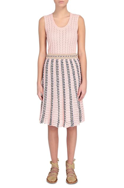 M MISSONI Skirt Pink Woman - Back