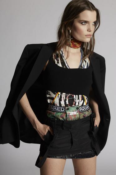 DSQUARED2 Mini skirt Woman S72MA0759S52370001S m