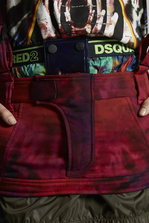 DSQUARED2 Silk Chiffon Ski Mini Skirt Mini skirt Woman