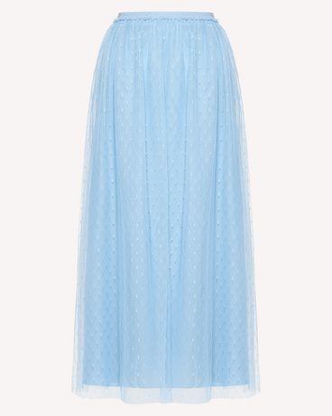 REDValentino RR0RA3801GK IQ8 Midi Skirt Woman a