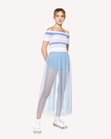 REDValentino RR0RA3801GK IQ8 Midi Skirt Woman d
