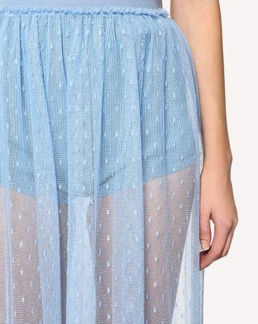 REDValentino RR0RA3801GK IQ8 Midi Skirt Woman e