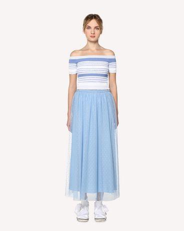 REDValentino RR0RA3801GK IQ8 Midi Skirt Woman f