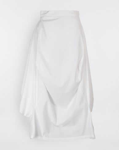 MM6 MAISON MARGIELA Seat Cover cotton skirt Long skirt Woman f