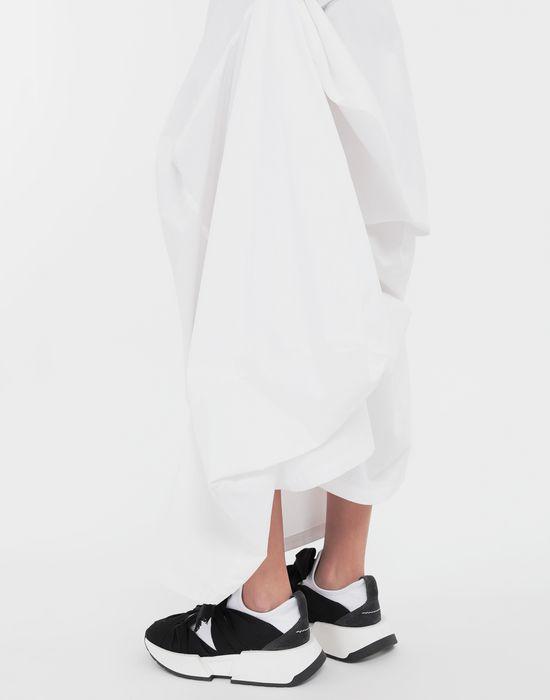 MM6 MAISON MARGIELA Seat Cover cotton skirt Long skirt [*** pickupInStoreShipping_info ***] b