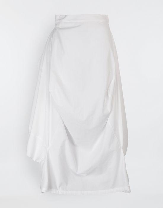 MM6 MAISON MARGIELA Seat Cover cotton skirt Long skirt [*** pickupInStoreShipping_info ***] f
