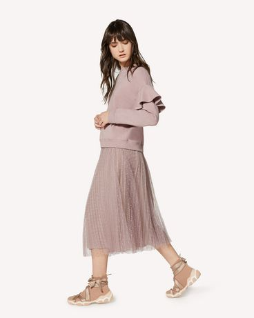 REDValentino SR0RA360428 KZ0 Long and midi skirts Woman d