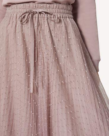 REDValentino SR0RA360428 KZ0 Long and midi skirts Woman e