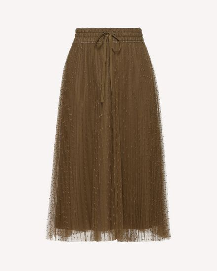 REDValentino Long skirt Woman RR0RAA70428 825 a