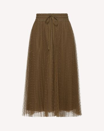 REDValentino RR0RAA70428 825 Long skirt Woman a