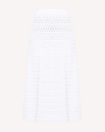 REDValentino RR0KGA00KKQ 001 Midi Skirt Woman a