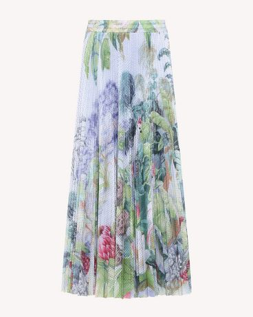 REDValentino RR0MD00BEEZ NV1 Midi Skirt Woman a