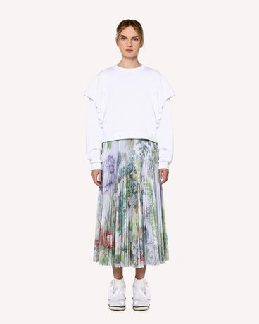 REDValentino RR0MD00BEEZ NV1 Midi Skirt Woman f