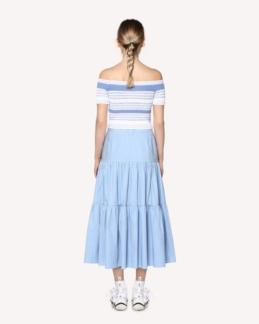 REDValentino RR0RAA850VU NV1 Long skirt Woman r