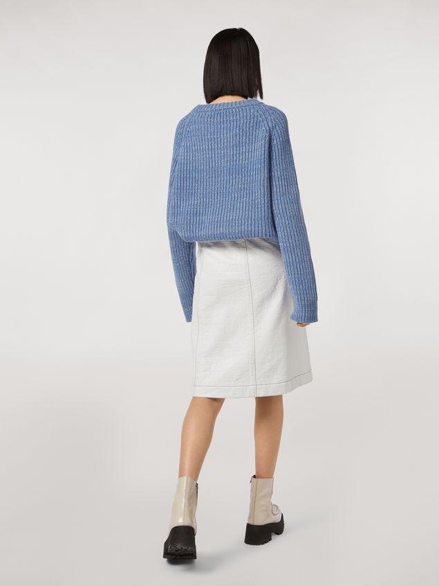 Marni Coated tweed wrap-up skirt Woman