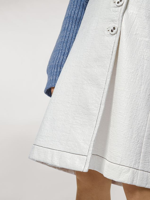 Marni Coated tweed wrap-up skirt Woman - 5