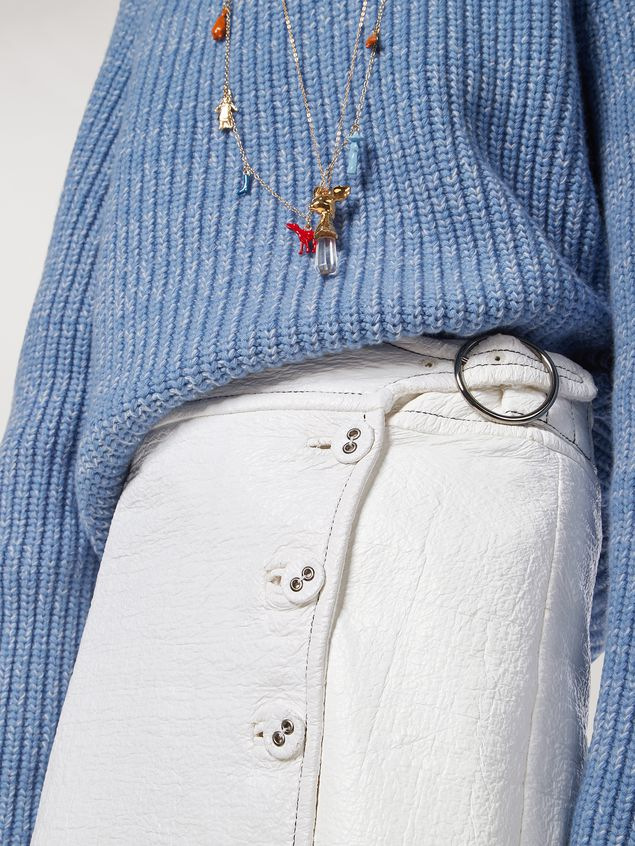 Marni Coated tweed wrap-up skirt Woman - 4