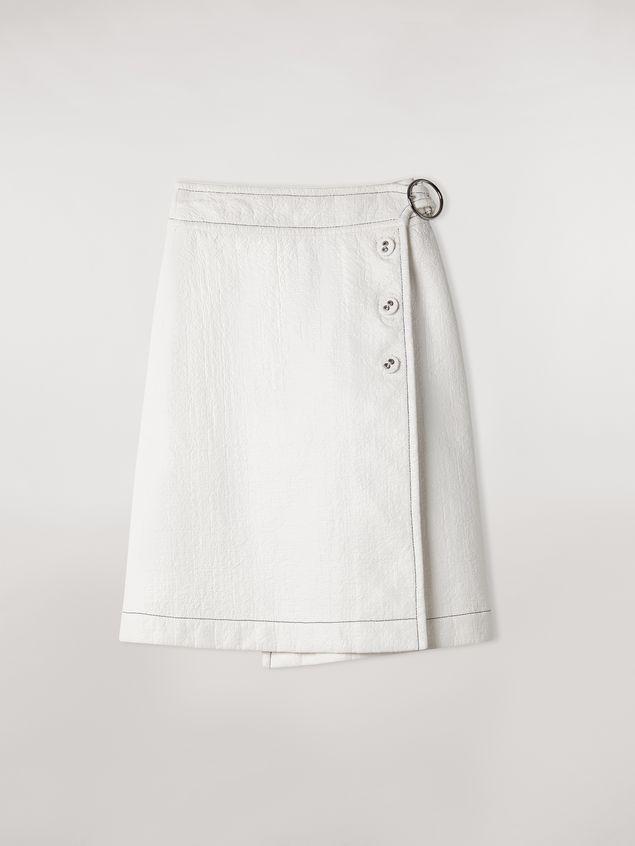 Marni Coated tweed wrap-up skirt Woman - 2