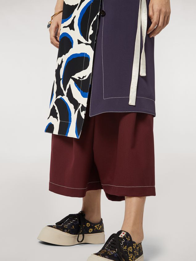 Marni Skirt in viscose cady Teardrop print Woman - 5