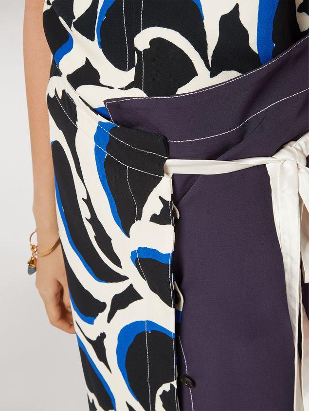 Marni Skirt in viscose cady Teardrop print Woman - 4