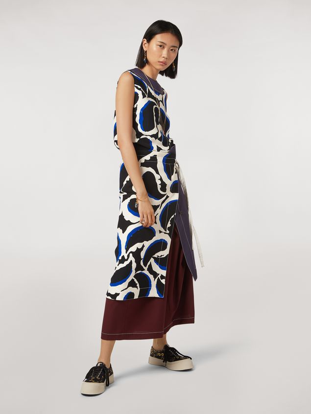 Marni Skirt in viscose cady Teardrop print Woman - 1