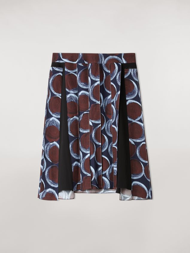 Marni Viscose sablé skirt with Paranoic print Woman - 2