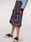 Marni Viscose sablé skirt with Paranoic print Woman - 5