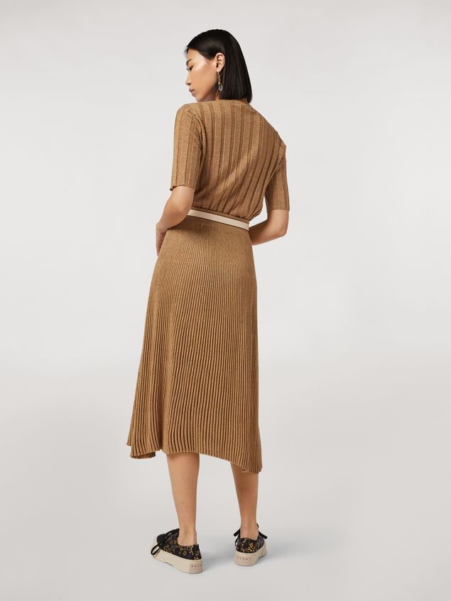 Marni Lurex ribbed skirt Woman