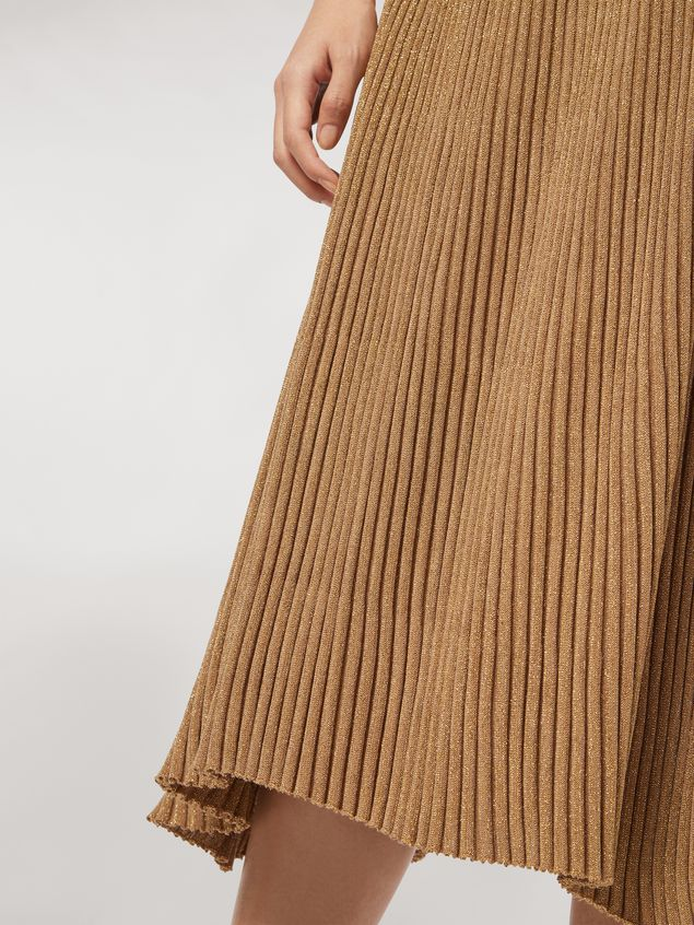 Marni Lurex ribbed skirt Woman - 4