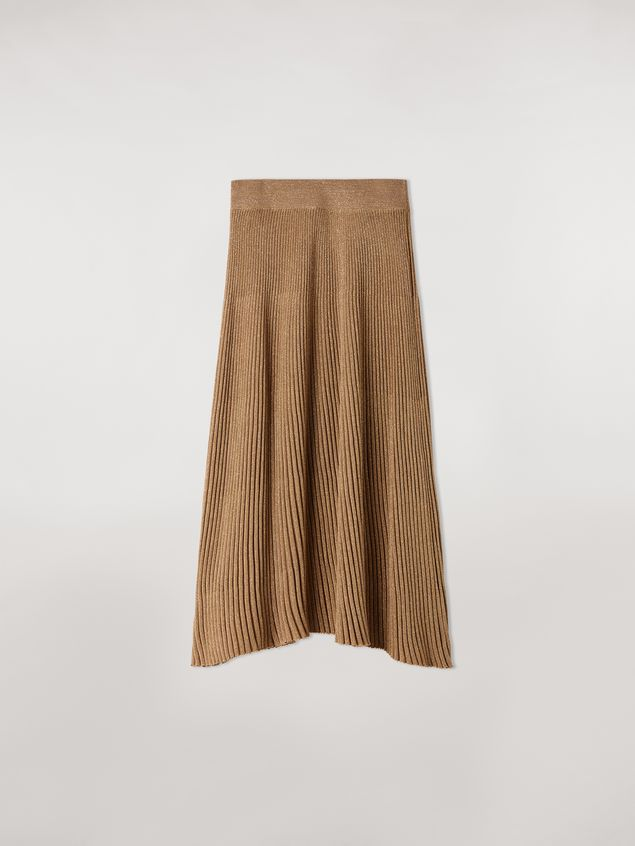Marni Lurex ribbed skirt Woman - 2