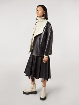 Marni Skirt in nappa lambskin Woman