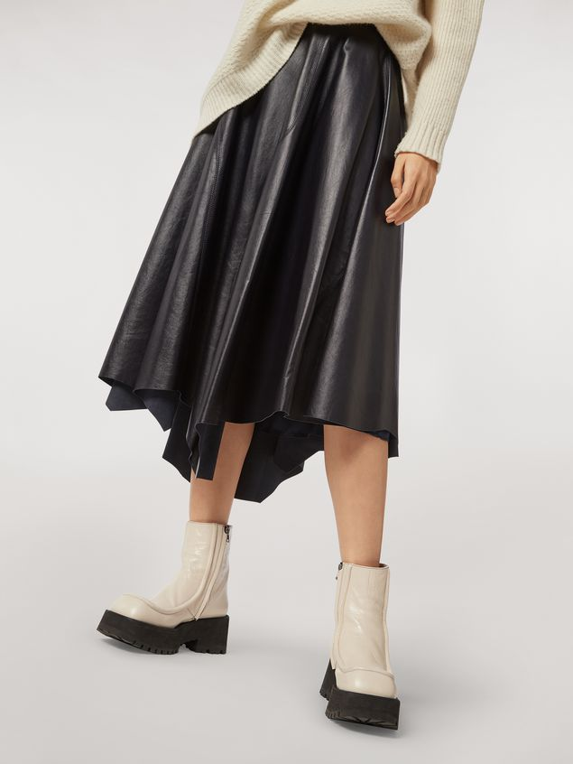 Marni Skirt in nappa lambskin Woman - 5