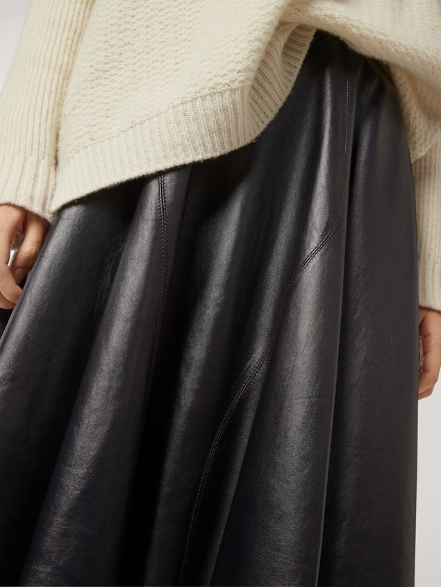 Marni Skirt in nappa lambskin Woman - 4
