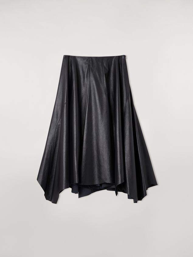 Marni Skirt in nappa lambskin Woman - 2