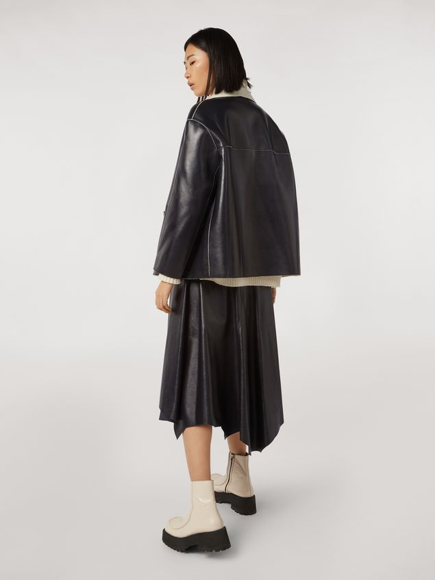 Marni Skirt in nappa lambskin Woman - 3