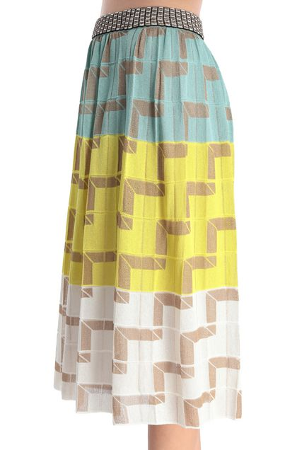 M MISSONI Skirt Yellow Woman - Front