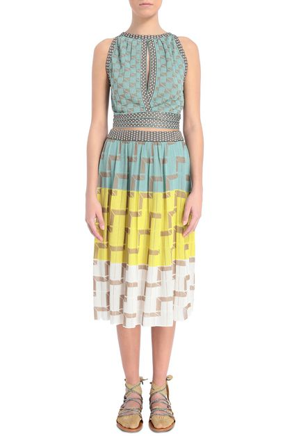 M MISSONI Skirt Yellow Woman - Back